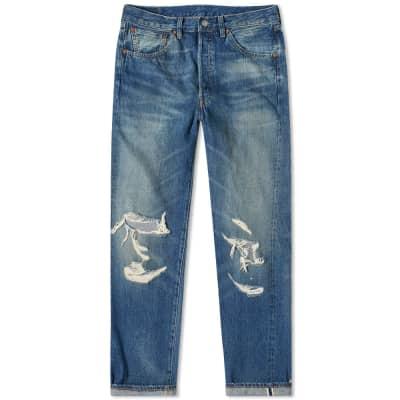 7ec419a9f4ea58 Levi's Vintage Clothing 1955 501 Jean