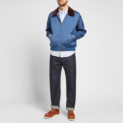 Levi's Vintage Clothing Sheepskin Collar Jacket