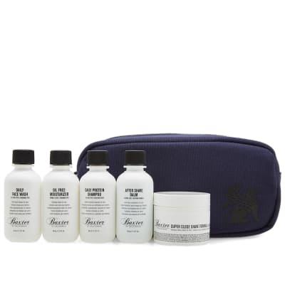 Baxter of California Travel Kit & DOPP Bag Boxed Set
