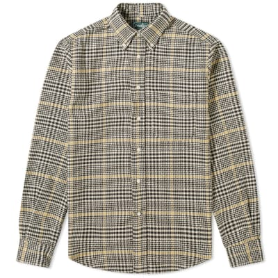 Gitman Vintage Cotton Houndstooth Tweed Shirt