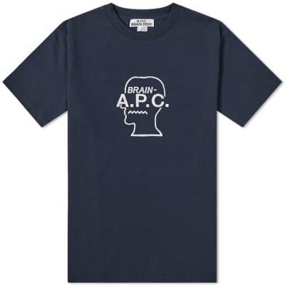 A.P.C. x Brain Dead Spooky Tee