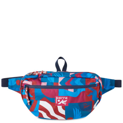 By Parra Grab The Flag Pattern Waist Bag