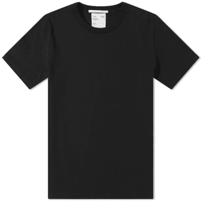 Helmut Lang Embroidered Small Logo Tee