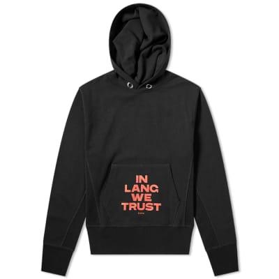 Helmut Lang In Lang We Trust Hoody