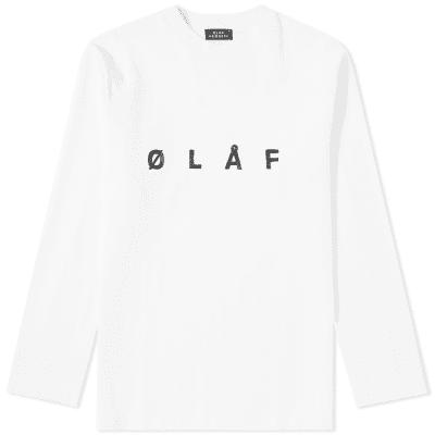 Olaf Hussein Long Sleeve ØLÅF Sans Tee
