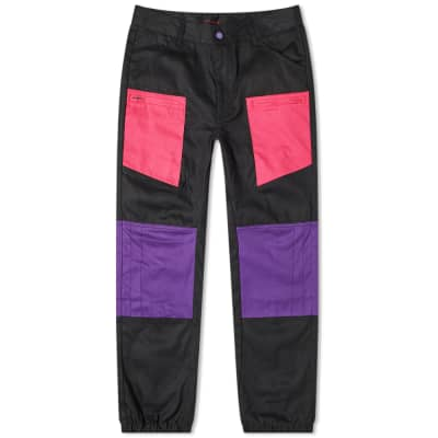 CLOT Contrast Patch Panel Pant