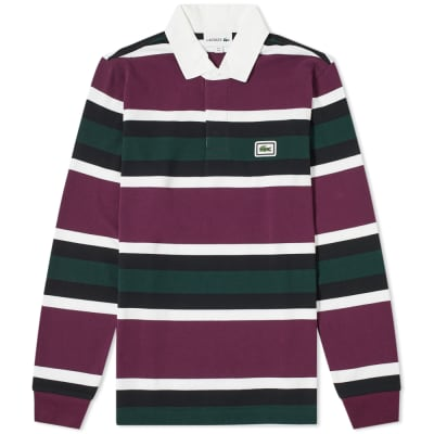 Lacoste Stripe Rugby Shirt