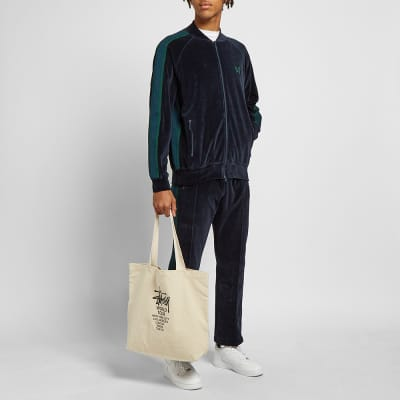 Needles Rib Collar Velour Track Jacket