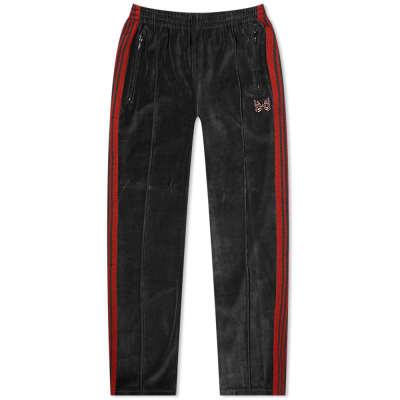 Needles Velour Narrow Track Pant