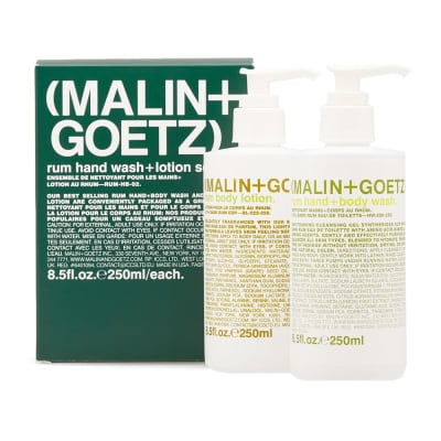 Malin + Goetz Rum Hand Wash & Lotion