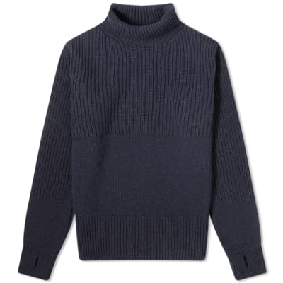 Oliver Spencer Talbot Chunky Roll Neck Knit