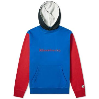 Billionaire Boys Club Embroidered Colour Block Popover Hoody