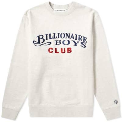 Billionaire Boys Club Embroidered Logo Crew Sweat