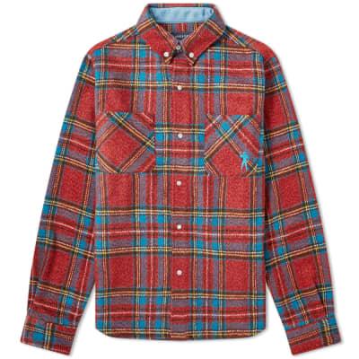 Billionaire Boys Club Heavy Check Flannel Shirt