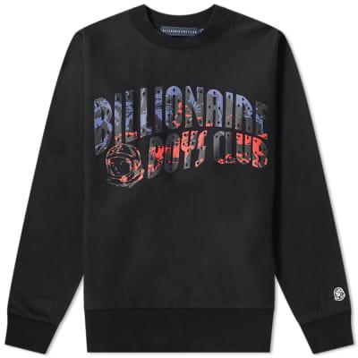 Billionaire Boys Club Horse Power Printed Arch Logo Sweat