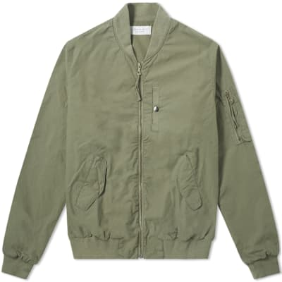 John Elliott Military Field Bomber Jacket