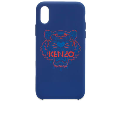 Kenzo iPhone X Rubber Tiger Case