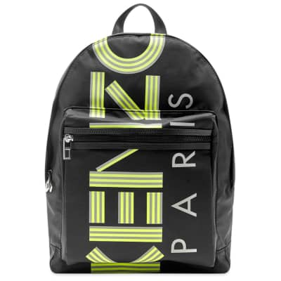 Kenzo Paris Reflective Sport Backpack