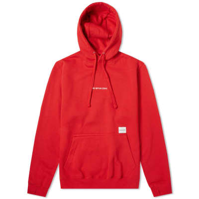 MKI Embroidered Logo Hoody