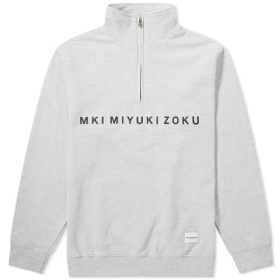 MKI Quarter Zip Sweat