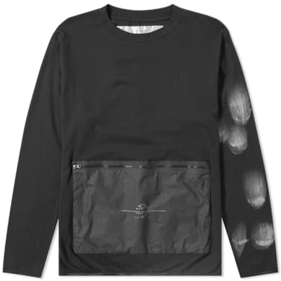 Oakley x Samuel Ross Long Sleeve Zip Pocket Tee