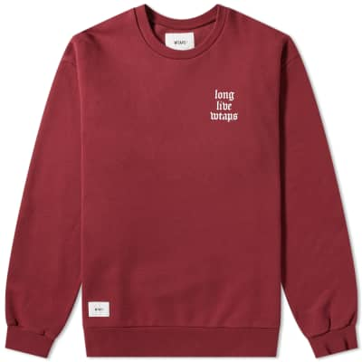 WTAPS LLW Crew Sweat