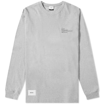 WTAPS Long Sleeve Spec 1 Tee