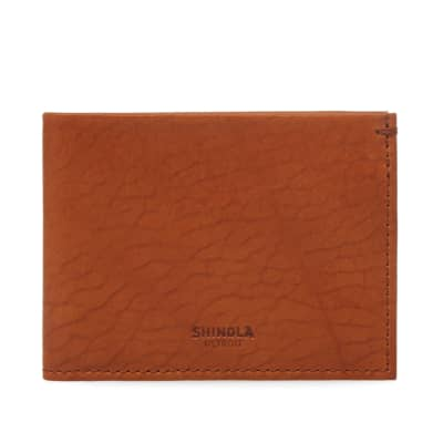 Shinola Slim Billfold Wallet