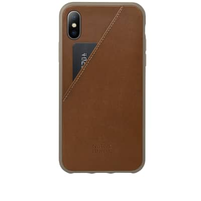 Native Union Clic Card iPhone X Case
