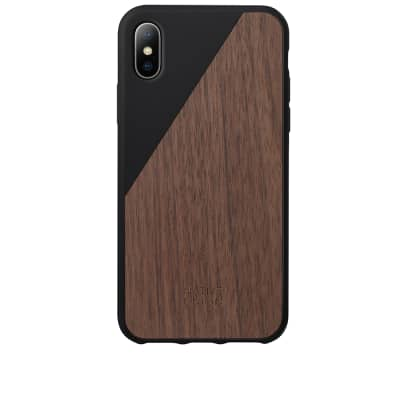 Native Union Wood Edition Clic iPhone X Case