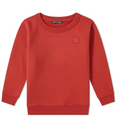 Acne Studios Mini Fairview Face Crew Sweat