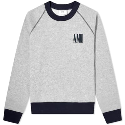 AMI Crew Logo Crew Sweat