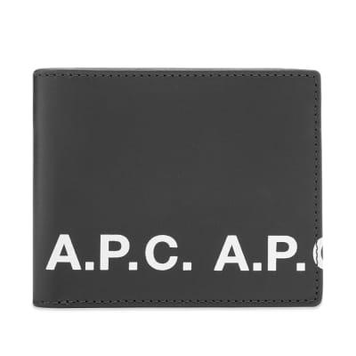 A.P.C. Logo Billfold Wallet