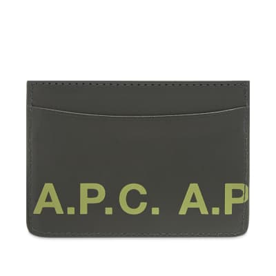 A.P.C. Logo Card Holder