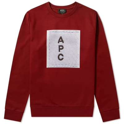 A.P.C. Logo Printed Sweat