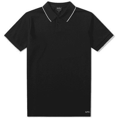 A.P.C. Tipped Polo