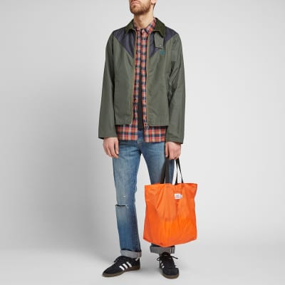 Barbour Beacon 2 Tone Zip Broad Waxed Jacket
