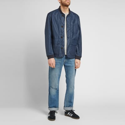 Barbour Kirkstile Waxed Bomber Jacket