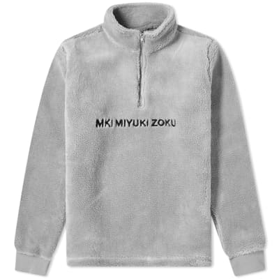 MKI Sherpa Quarter Zip Sweat