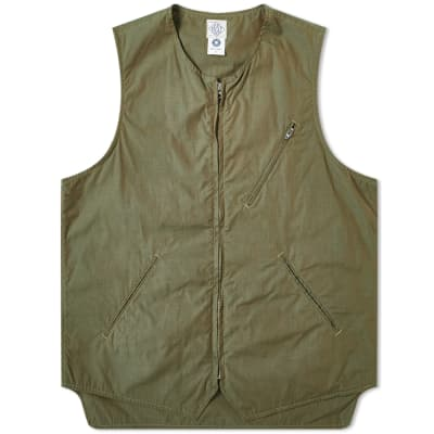 Post Overalls North West Zip Vest