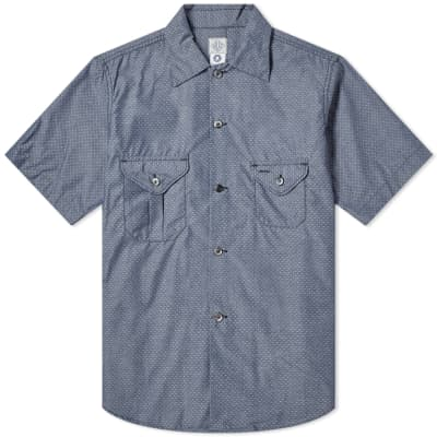 Post Overalls Short Sleeve Pocket Shirt