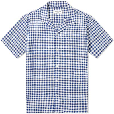 YMC Malick Gingham Vacation Shirt