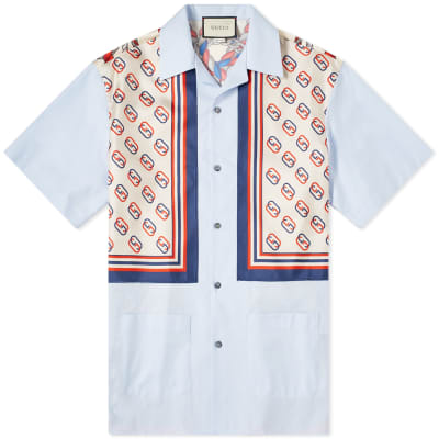 Gucci Patch Pocket Bowling Shirt