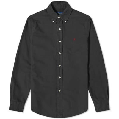 Polo Ralph Lauren Slim Fit Garment Dyed Oxford Shirt