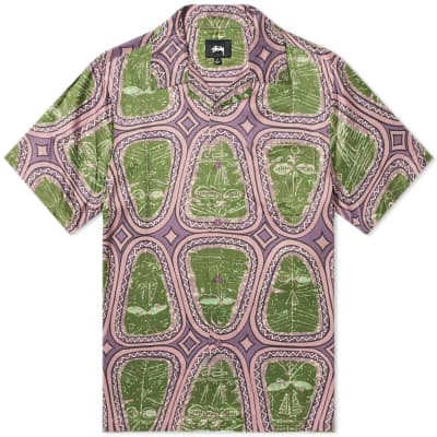 Stussy Short Sleeve Mask Shirt