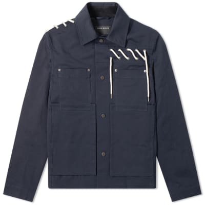 4d02a3e2b Craig Green Laced Bonded Worker Jacket