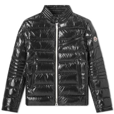 84ee2f36 Moncler Berriat Down Biker Jacket