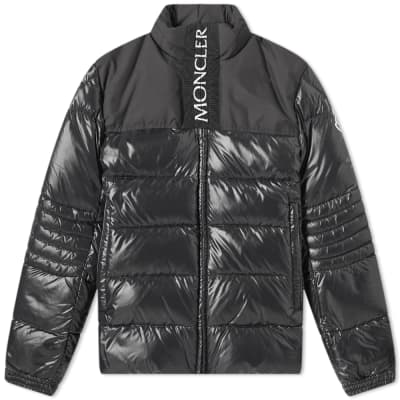 Moncler jacob jacket black womens down