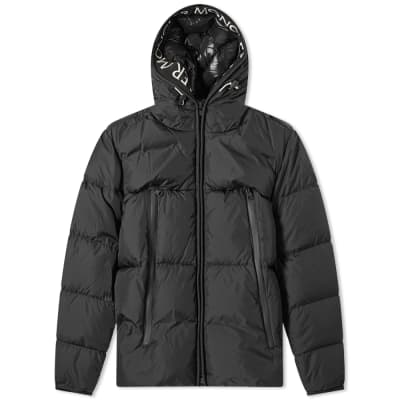f61fa63476774 Moncler Montclar Taping Logo Hooded Down Jacket