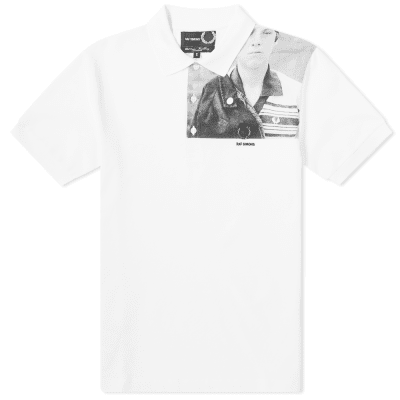 Fred Perry x Raf Simons Shoulder Print Polo